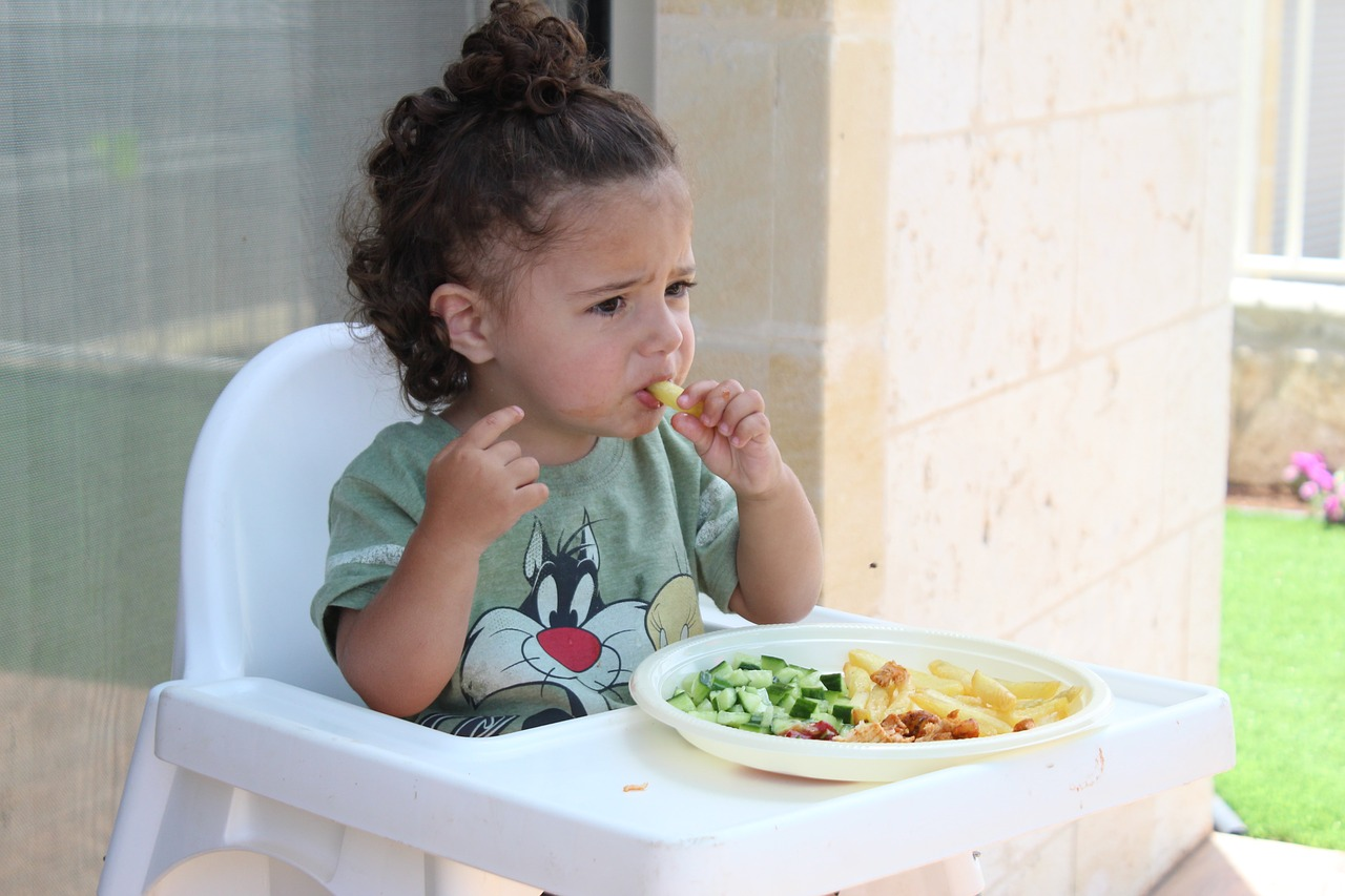 slecht etende kind
