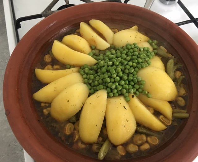 mijn groente tajine