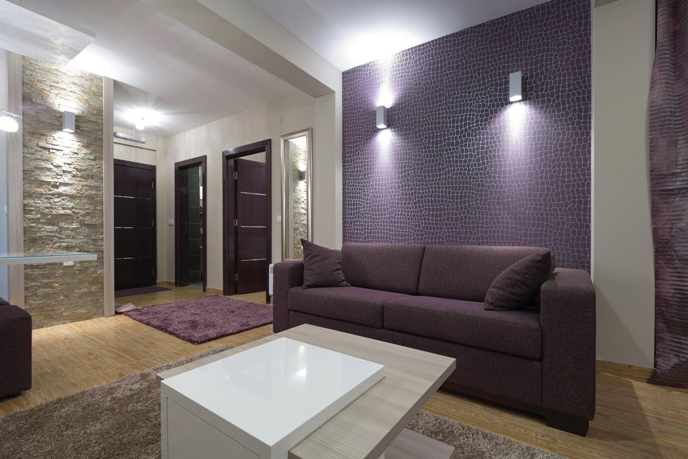 Gebruik wandlampen om een warm interieur te creëren