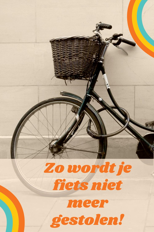 Zo wordt je fiets niet meer gestolen!