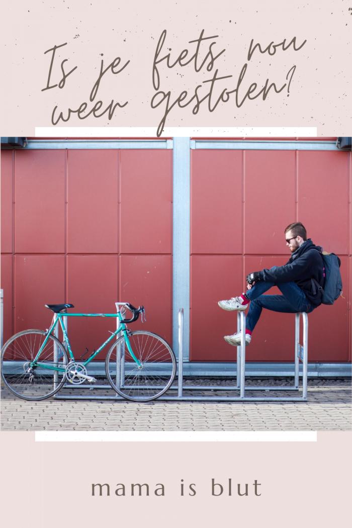 Is je fiets nou alweer gejat?