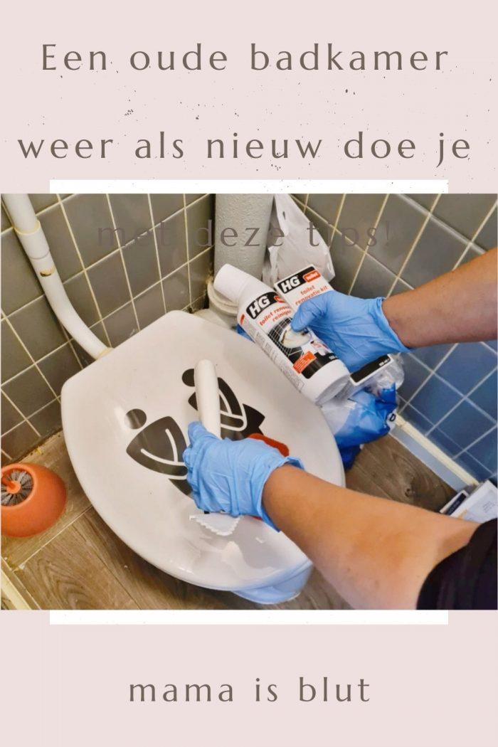 Een schone badkamer in 5 stappen