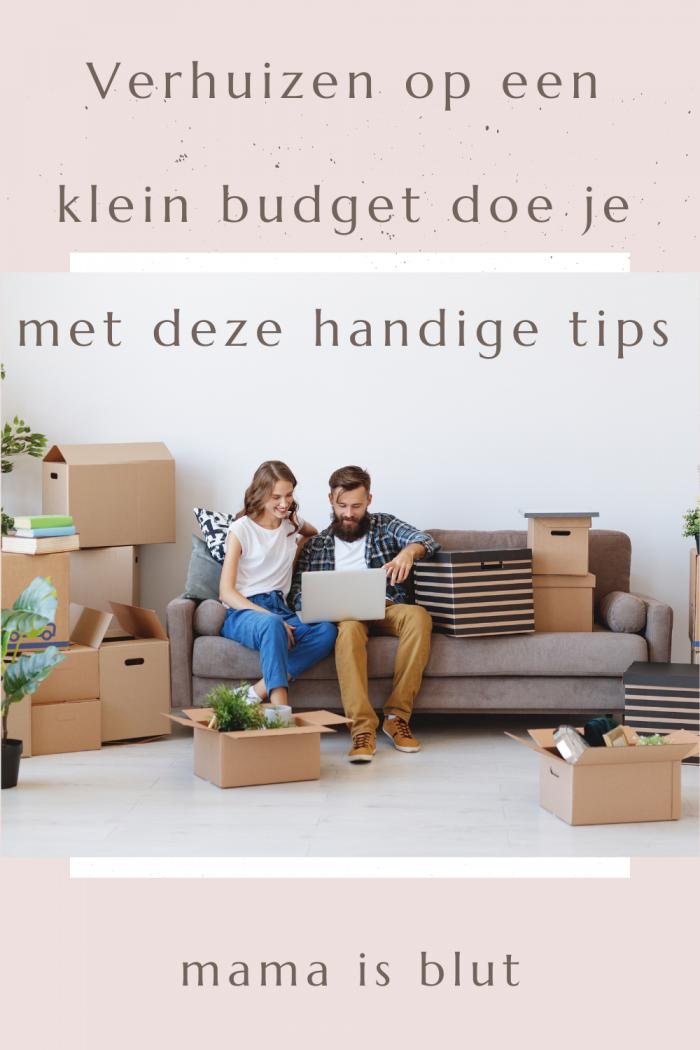 Verhuizen op een budget doe je met deze handige tips