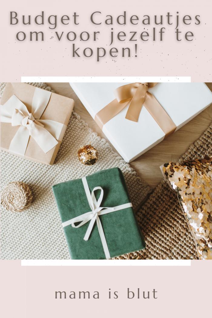 Budget Cadeautjes om voor jezelf te kopen!