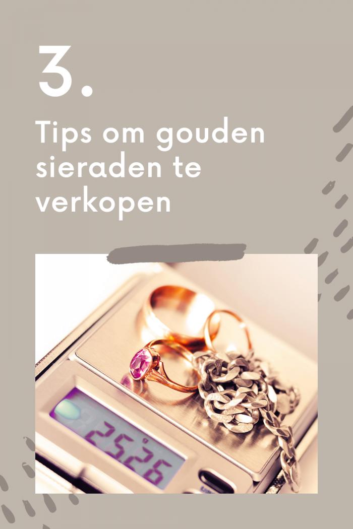 Gouden sieraden verkopen? 3 tips