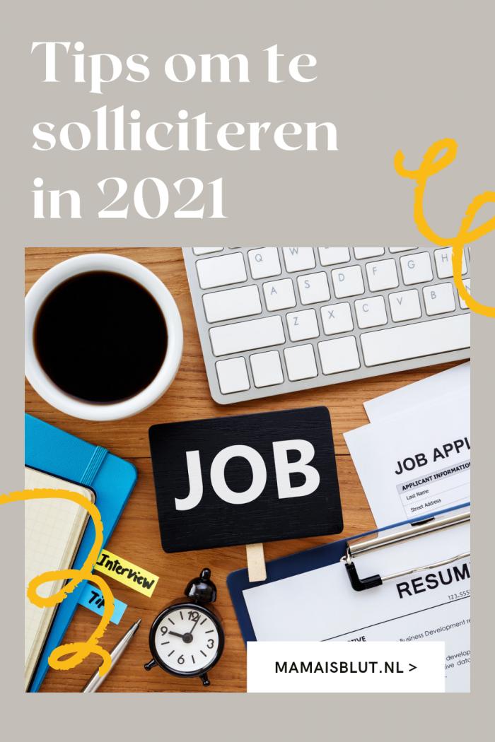 Solliciteren in 2021